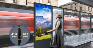 Ecran information exterieure samsung monitor outdoor
